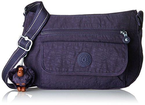 Kipling - Syro, Bolsos bandolera Mujer, Violett (Blue Purple C), 31x22x12.5 cm (B x H T)