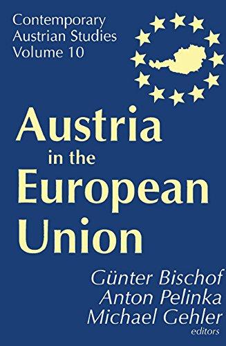 Austria in the European Union (Contemporary Austrian Studies) (English Edition)