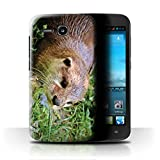 Stuff4 Phone Case for Huawei Ascend Y600 Cute Baby Animal
