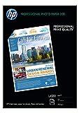 HP Q6550A - Papel fotográfico láser profesional mate HP Q6550A A4 / 210 x 297 mm, 200 g / m2, 100 hojas