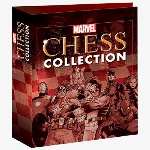 Eaglemoss Archivador para 16 revistas de la colección de Ajedrez de Marvel