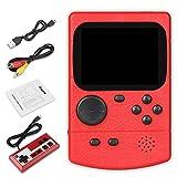 Anpro Consoles Jeux Portable 500 Jeux Classiques Console Jeu Retro avec Manette Chargement USB, Câble Vidéo, Batterie Rechargeable 800mAh Grand Cadeau pour Enfants,Adults