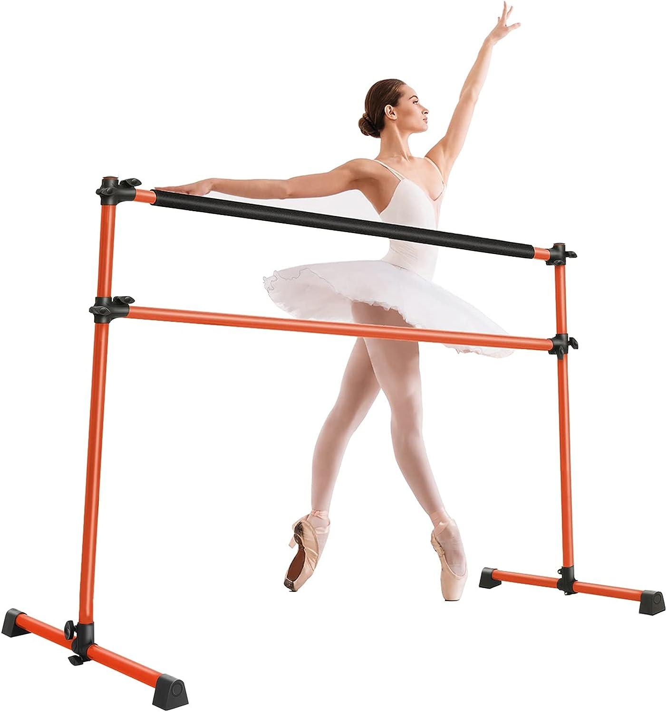 LLHW 4Ft Adjustable Portable Ballet safety Barre Home for Bar Da Kids Max 67% OFF