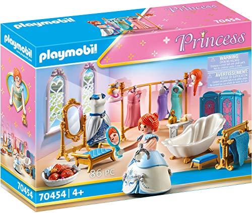 PLAYMOBIL Princess 70454 Ankleidezimmer mit Badewanne, Ab 4 Jahren