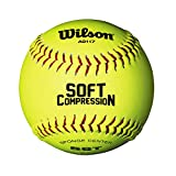 Wilson Softball SCB SOFTBALL, Ultra Grip Mantel, gelb, WTA9117T