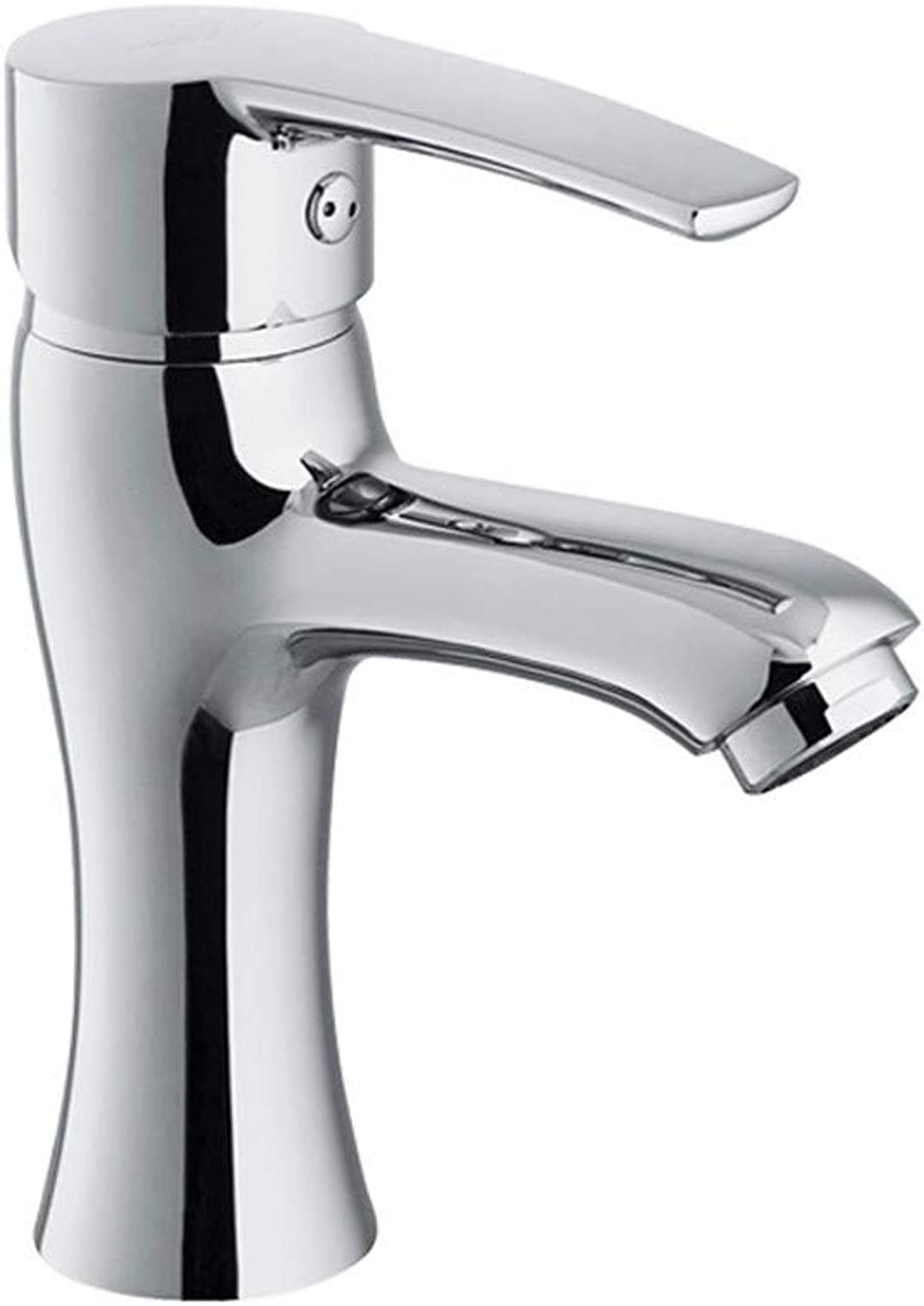 Zhcmy?Faucet Hot And Cold Thick Single Hole Basin Faucet