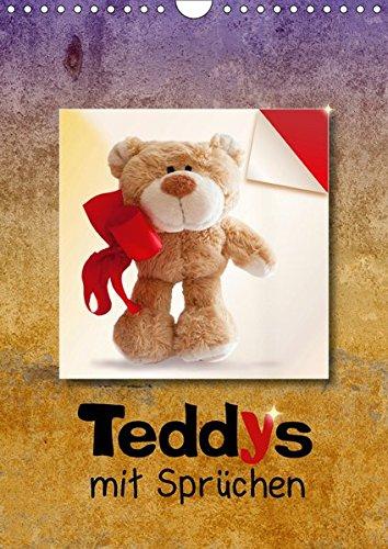 Teddys mit Sprüchen (Wandkalender 2019 DIN A4 hoch): Bärige Sprüche schenken Harmonie und Lebensfreude. (Monatskalender, 14 Seiten ) (CALVENDO Spass)
