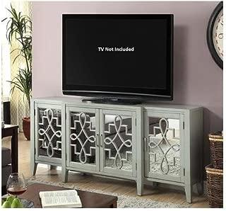 Acme Furniture 90190 Kacia Console Table, Antique Gray