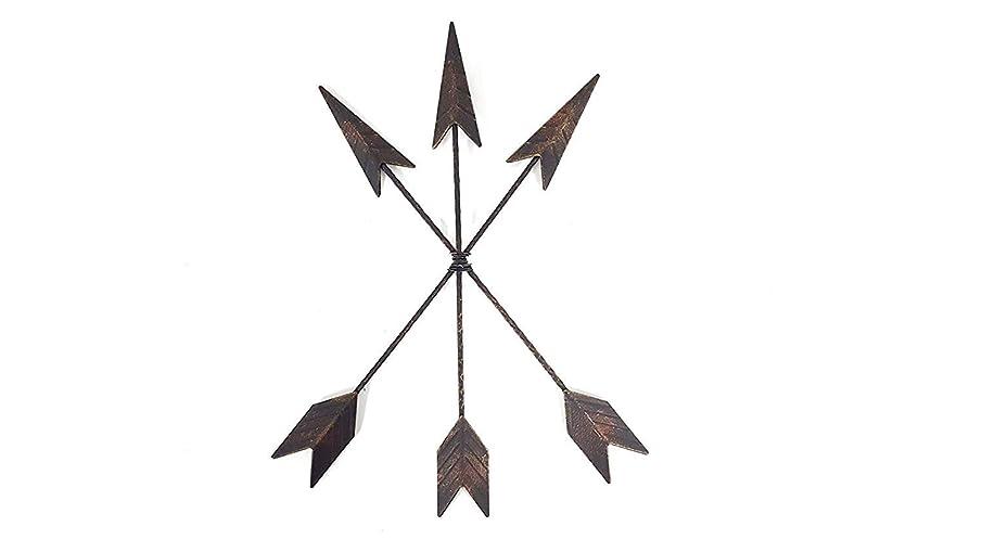 Cast Iron Native American Arrow Wall Decor