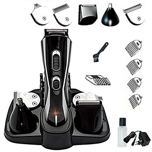 Eurosell Premium HT-20B Akku Haarschneider Haarschneidemaschine Set + Aufsätze + Rasierer + Nasenhaar Trimmer Haar Schneide Maschine Cutter …