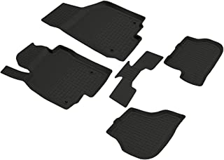 FITMAX BPA-Free Car Floor Mats for VW Jetta 2019-2020 Custom Fit Front & Rear Floor Liner Protection All Weather, Anti-Sli...