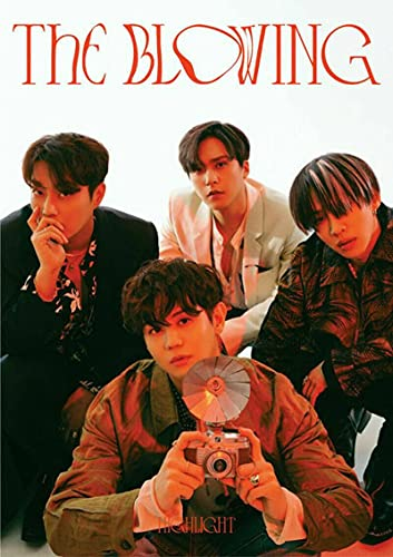 HIGHLIGHT [THE BLOWING] 3rd Mini Album [ WIND ] VER. CD+1p FOLDED POSTER+100p Photo Book+Holder+8p Lyrics Paper+Post Card+etc K-POP SEALED+TRACKING CODE
