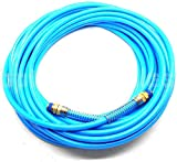 New Hand Tools 1/4' NPT Fitting x 50 FT Air Compressor PU Hose Roofing Framing Carpentry