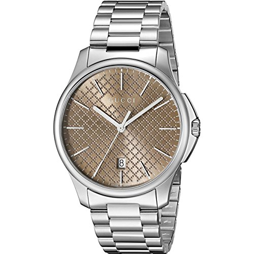 Gucci G-Timeless Slim Herren-Armbanduhr YA126317