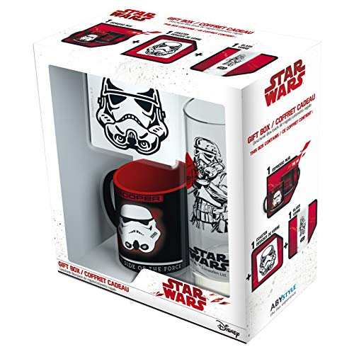 ABYstyle - Star Wars ABYPCK100 Mini tasse avec soucoupe et tasse Trooper