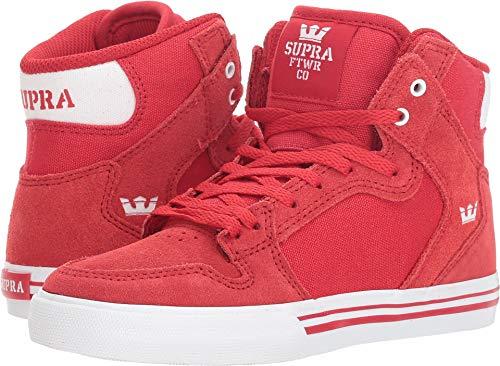 Supra Skytop Unisex Erwachsene Sneakers, Rot - Eins Weiß Formel - Größe: 4.5 M US Niño Grande