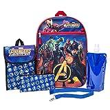 Marvel Avengers Backpack Combo Set - Avengers Boys 6 Piece Backpack Set