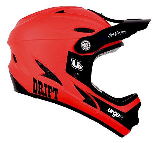 Urge Drift - Casco Integral, Color Rojo
