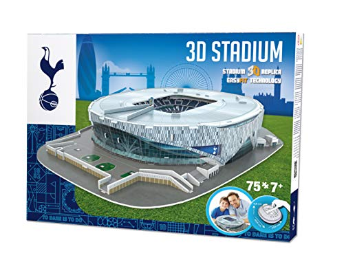 Paul Lamond Games 3905 FC Tottenham Hotspur - Puzzle 3D, come da immagine