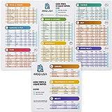 M G Q USA Instant Pot Magnetic Cheat Sheet Set -...