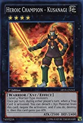 A single individual card from the Yu-Gi-Oh! trading and collectible card game (TCG/CCG). This is of Super Rare rarity. From the Abyss Rising set. You will receive the 1st Edition version of this card.