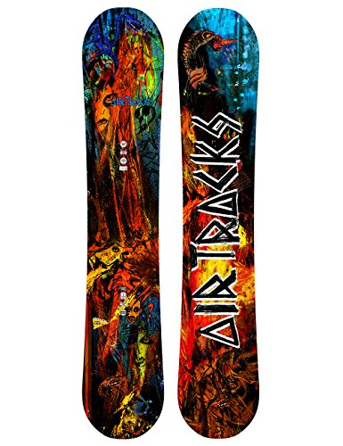 Airtracks No Fears Carbon Snowboard Rocker/All Mountain/Freestyle/152157162cm