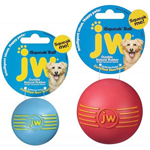 JW Pet iSqueak Hundespielzeug, Ball, Größe M
