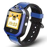 QISHUO 多機能 4G スマートウォッチ 子供向け キッズウォッチ 通話 ビデオチャット 位置確認 GPS 歩数計 防水