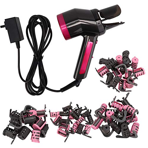 Buy Simlug Fast Curling Iron One-Click perm Function (no Burns) ?Efficient Hair Curling Wand with Ha...