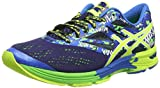 ASICS Gel-Noosa Tri 10, Chaussures Multisport Outdoor Hommes, Bleu (Navy/Lightning/Neon Orange 5093), 46 EU