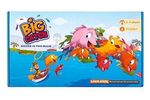 Logic Roots Big Catch Division (Fortgeschrittene) Brettspiel STEM Spielzeug Maths Ressource für 10 Jahre und mehr (englischsprachiges Produkt)