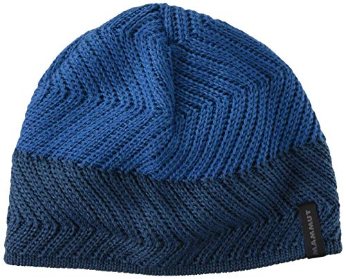 Mammut Uni Beanie Alvier, Sapphire-Wing Teal, one Size, 1191-00500
