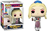 Funko 44369 POP Heroes: Birds of Prey-Harley Quinn (Black Mask Club) Collectible Figure, Multicolour