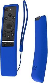 Funda para el mando Samsung 4K UHD Smart TV, de Sikai, antideslizante, de gel, con cordón, respetuosa con el medioambiente