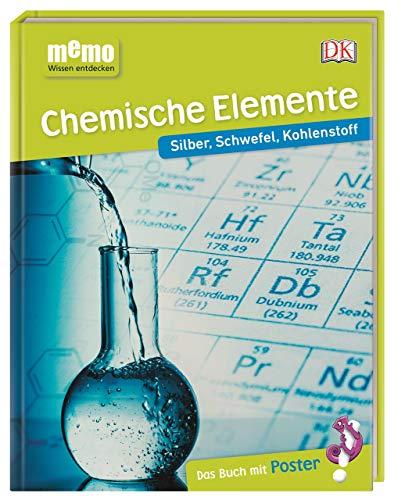 memo Wissen entdecken. Chemische Elemente: Silber, Schwefel, Kohlenstoff. Das Buch mit Poster!