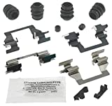 ACDelco Professional 18K1747X Front Disc Brake Caliper Hardware Kit with Clips, Seals, Bushings, and Lubricant