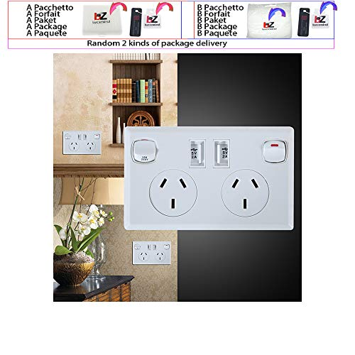 Doppel USB australische AU Steckdose Steckdose Home Power Point Supply Plate 2 Switch Home Improvement Tools
