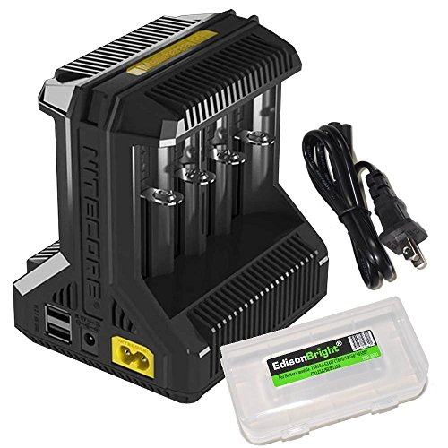 NITECORE i8 Eight Bays Smart Battery Charger for Li-ion/IMR/Ni-MH/Ni-Cd 26650