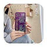 Fake-love Make A Fortune Gradient Coque arrière souple pour iPhone 12 Mini 11 Pro Max X XS XR 8...