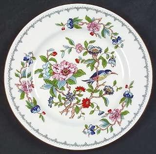 John Aynsley Pembroke-Gold Trim Dessert/Pie Plate, Fine China Dinnerware