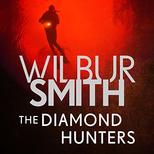 The Diamond Hunters audiobook cover art