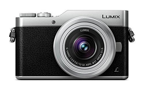 Panasonic LUMIX G DC-GX800KEGS Fotocamera Digitale Mirrorless 4K, Obiettivo LUMIX G VARIO 12-32mm F3.5-5.6 con Stabilizzatore MEGA OIS, Tiltable Monitor LCD Touch da 3, Flash Integrato, Wi-Fi, Argento