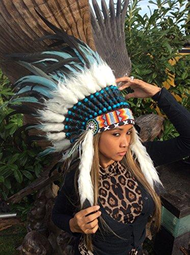 kenai Federhaube,Indianerhaube,War Bonnet,Indian Headdress,Coiffe indienne,Squaw, Little Big Horn