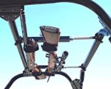 Great Day Quick-Draw UTV Overhead Gun Rack Front to Back Measurements of 15' - 23' QD855-OGR