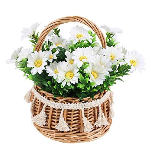 Flores Artificiales Decorativas Con Maceta flores artificiales  Marca NAHUAA