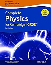 Complete Physics for Cambridge IGCSE ® Student book (Third edition) (Complete Science Igcse) by Stephen Pople (25-Sep-2014) Paperback