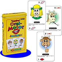 Super Duper Publications Can Do Oral-Motor Fun Deck Flash Cards Educational Learning Resource for Children