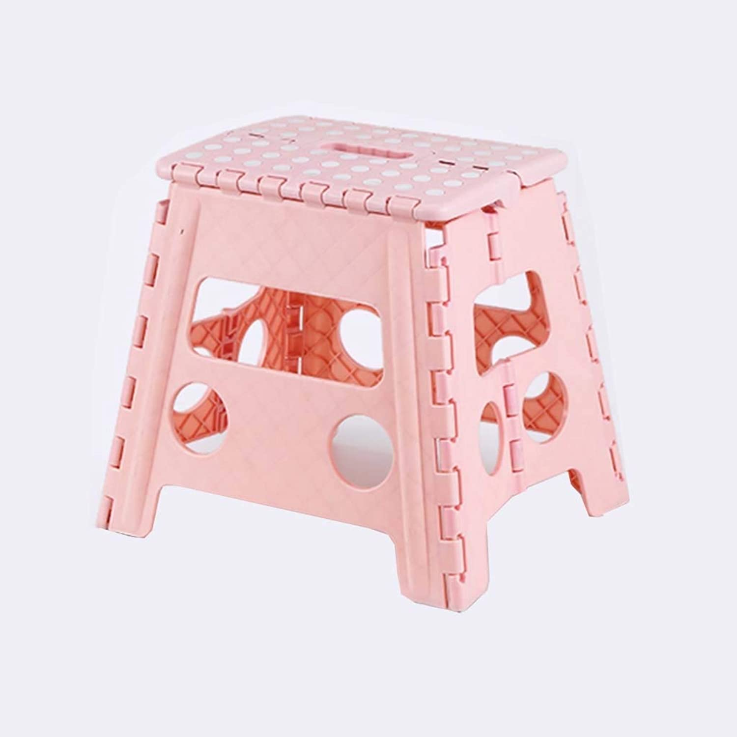 Stools Heavy Duty Folding Step Stool – Strong Compact Plastic Anti Slip Stepping Stool for Kids and Adults with Carry Handle for Home, Kitchen and Workplace Stools (Size   XXXL)