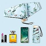 Paraguas compacto de viaje – ligero portátil mini paraguas compacto...