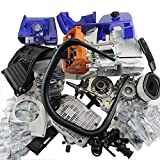 Farmertec Complete Repair Parts Air Filter Cover Chain Sprocket Clutch Drum for Stihl MS660 066 Engine Motor CRANKCASE Cylinder Piston CRANKSHAFT Chainsaw Woodworkers Carpenters